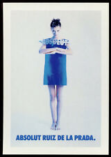 cartolina pubblicitaria PROMOCARD n.2904 ABSOLUT RUIZ DE LA PRADA  VODKA n.173