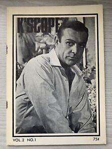 James Bond 007--Kaleidoscope Thunderball-Sean Connery Rare Movie Fan Booklet '65