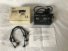 GOOD CONDITION Sound LAB Power Bank DC-9 powers up to 5 Effects Pedals DC 9V