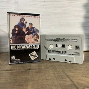The Breakfast Club The Original Motion Picture Soundtrack Cassette Tape 1985 A&M