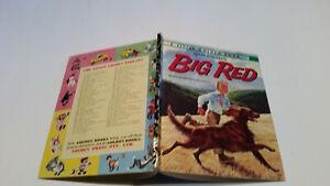 OLD Little Golden Book SYD Walt Disney BIG RED red setter dog D73 MEL CRAWFORD