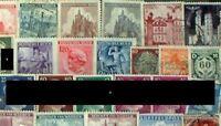 Deutsches Reich Briefmarken-100 verschiedene Marken