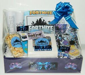 FORTNITE GAMERS HAMPER GIFT IDEAL BIRTHDAY EASTER PRESENT DIY KIT