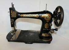 Antique sewing machines ebay singer treadle sewing machine sciox Choice Image