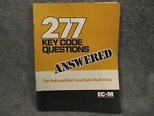 ECM Electrical Construction & Maintenance 277 Key Code Questions Answered Book