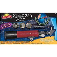 Scientific Explorer Sirius 360 Telescope & Tripod Educational Hobby
