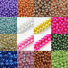 Wholesale Glass Faux Pearl Spacer Loose Charm Beads Jewelry Making 4/6/8/10/12MM
