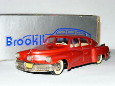 Brooklin No.2 1948 Tucker 48 Torpedo Metallic Red Early Silver Box 1/43