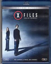 Blu-ray DISC ARNOLD X FILES VOGLIO CREDERCI