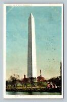 Washington Monument, Vintage Washington DC c1907 Postcard