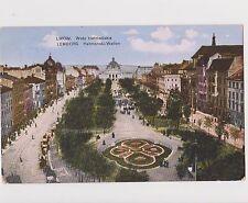 Old Ukraine Postcard Lvov Lwow Lemberg Waly Getmanske Стара Україна Львів