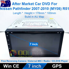 "7"" Car DVD GPS Navi Head Unit Stereo For Nissan Pathfinder 2007-2010 (MY08) R51"