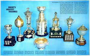 1 - Double page pull out from the Star weekly -  Hockey Greatest Treasures