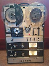 Vintage Working Akai M9 Reel to Reel w/ Extra Reels & Hank Williams Sr.&Jr. LOOK