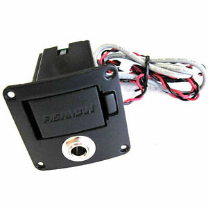 """Fishman Fender Battery Box with 1/4"""" Input Output Jack for T-Bucket 100CE Guitar"""