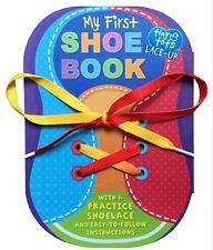 MY FIRST SHOE BOOK Learn to tie shoes and lace shoes (bb)  New