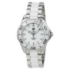 Tag Heuer Aquaracer White Dial Ladies Watch WAY131D.BA0914