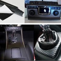 Selbstklebend Carbon Folie Auto KFZ LKW Klebe Folie Glanz Matt Schwarz 3D 4D 5D