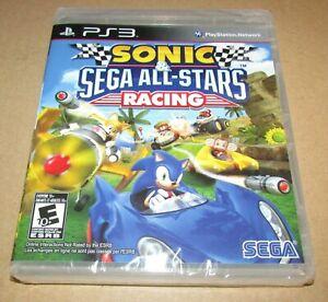 Sonic & Sega All-Stars Racing (Sony PlayStation 3) Brand New / Fast Shipping