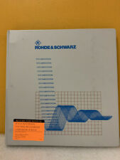 Rohde Amp Schwarz 1057305749 03 Noise Figure And Gain Fs K3 Software Manual