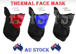 NEOPRENE FACE MASKS MOUTH MASK NECK WARM SKIING SPORTS MOTORCYCLE BIKE OUTDOOR