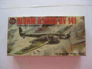 1 72 Model Plane BLOHM & VOSS BV141 Airfix D10-1398