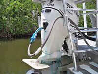 BLUE THRU Boat Jetski Outboard Inboard Motor Engine Salt Removal Flush Tablets