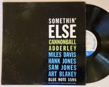 CANNONBALL ADDERLEY-SOMETHIN' ELSE LP-BLUE NOTE-MONO-NY-EAR-47 W 63RD-DG-RARE!!