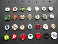 More details for 28 consecutive years open golf championship ball markers (1992-2019 inc)