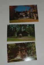Postcard Lot New York Mark Twain Summer House Elmira College, Indian Council