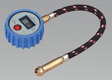 Sealey TST/PG981 Reifendruckprüfer Digital mit Führungsschlauch & Schnellspanner