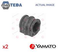 2x YAMATO FRONT ANTI-ROLL BAR STABILISER BUSH KIT J71031YMT I NEW OE REPLACEMENT