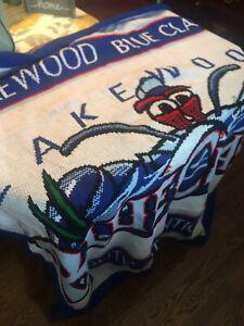 Philadelphia Phillies Lakewood Blueclaws blanket. NEW. Nice And Heavy 5x5