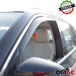 Window Visor Vent Sun Shade Rain Guard 2pcs Fits BMW X5 F15 2007-2018