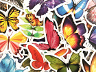 50 Butterfly Sticker Bomb Pack Stickers For Laptops Water Bottles Hydroflasks