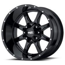 17 Inch Gloss Black Wheels Rims Ford F150 Truck Expedition 6x135 Lug Moto Metal