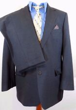 BROOKS BROTHERS 346 STRETCH GRAY SUIT Mens 44L/44 L Jacket~34 X 31 Pleated Pants