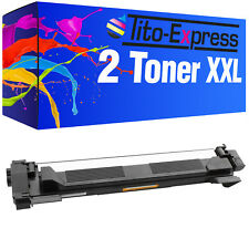 Laser Toner Kartusche 2x ProSerie für Brother TN-1050 DCP1510 DCP1510E DCP1512
