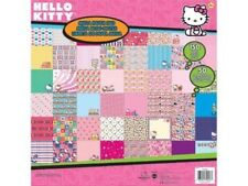 "HELLO KITTY MEGA SCRAPBOOK PAPER PAD *150 SHEETS* NEW 12""x12"" USE WITH CRICUT"