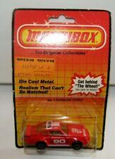 Matchbox Superfast No 3 Porsche Turbo Red Tan Interior AMBER Glass MIB