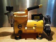 Puma oilless MA-1000G Air Brush Compressor w/ gauge and water separator 1/8 hp