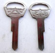 (1) Vintage Ford FAIRLANE Nickel NOS Key