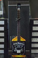 "Rockin Miniature Guitars JACK DANIELS Bass Michael Anthony Van Halen Tribute 10"""