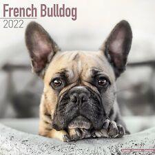French Bulldog Calendar 2022 Dog Breed Wall Calendar 15% OFF MULTI ORDERS!