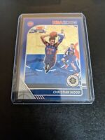 2019-20 Panini Hoops Premium Stock Christian Wood Blue Prizm #64 SSP MINT