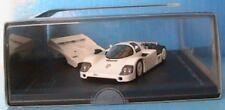 PORSCHE 956 LH SHOW CAR 1983 FRANKFURT HPI 942 1/43 GERMANY WHITE WEISS BLANCHE