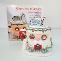 Department 56 North Pole Series Village Santa's Hot Cocoa Cafe Building 4020207