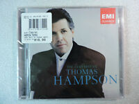 The Very Best of Thomas Hampson - Baritone - EMI 2 CD Set - NEW