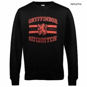 Official Sweatshirt Harry Potter Gryffindor Quiddich Sigil Size SMALL 38 chest