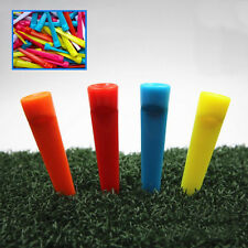 10Pcs / PACK 70mm Large PLASTIC STRONG WEDGE GOLF TEES  PLASTIC STRONG WEDGE